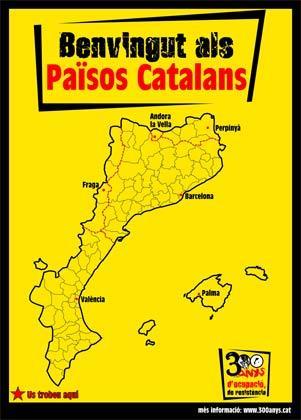 Mapa dels pastiços catalans que els panques neguen que existix