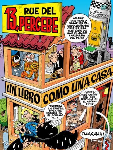 foto d'un eixemplar del comic 13 Rue del Percebe