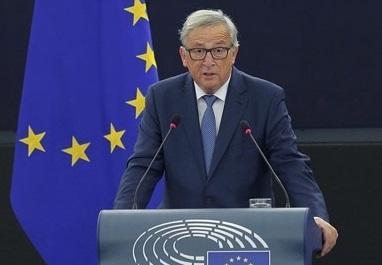 Junker en el parlament europeu
