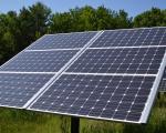 Panell solar en una casa particular