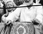 Hemingway en la plaça de bous de Valencia