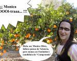Caricatura de Monica Oltra i la seua intimitat del catalanisme