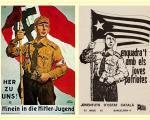 comparacio de cartell nazi i cartell panca